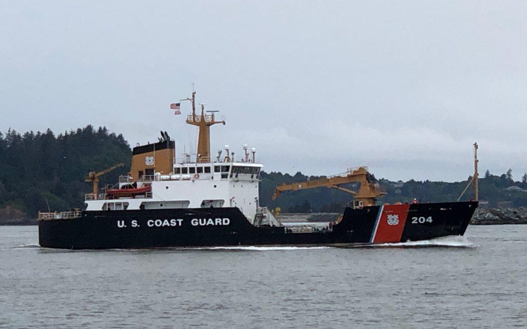 USCG Cutter Elm arrives in Astoria