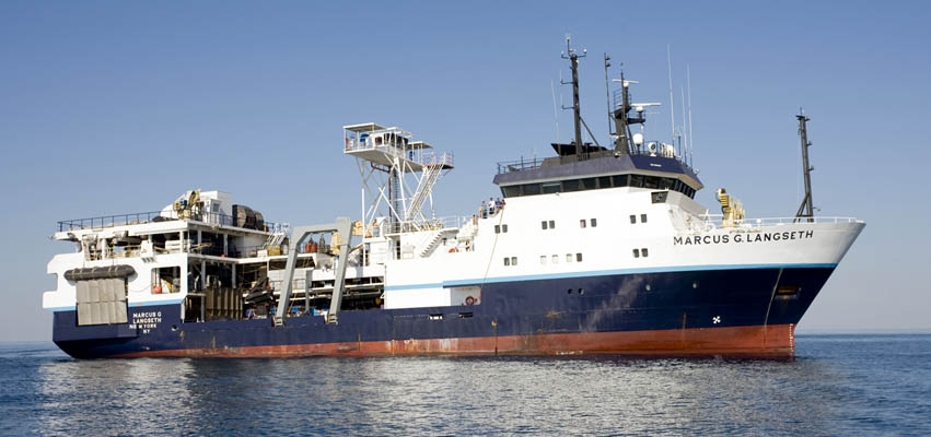 The Marcus G. Langseth seismic research vessel
